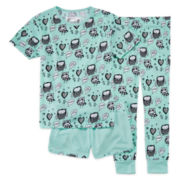 Owl 3-pc. Pajama Set - Girls 7-16