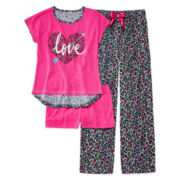 Total Girl® 3-pc. Pajama Set - Girls 4-16