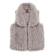 Arizona Faux-Fur Vest - Girls 7-16 and Plus