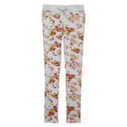 Vigoss® Floral-Print Knit Pants - Girls 7-16