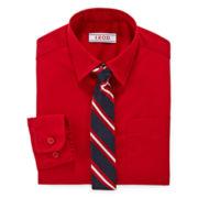 IZOD® Shirt and Clip-On Tie Set - Preschool Boys 4-7