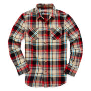 Arizona Long-Sleeve Flannel Shirt - Boys 8-20 and Husky
