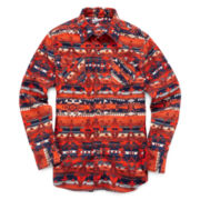 Arizona Long-Sleeve Flannel Shirt - Boys 8-20