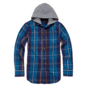 Arizona Hooded Flannel Shirt - Boys 8-20