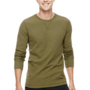 Arizona Solid Long-Sleeve Thermal Tee