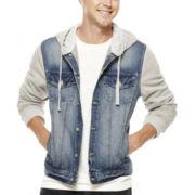Arizona Hooded Denim Jacket