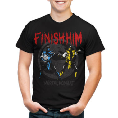 jcpenney.com | Mortal Kombat™ Finish Graphic Tee