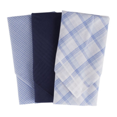 jcpenney.com | Dockers® 3-pk. Cotton Handkerchief Set