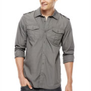 i jeans by Buffalo Merza Long-Sleeve Woven Shirt