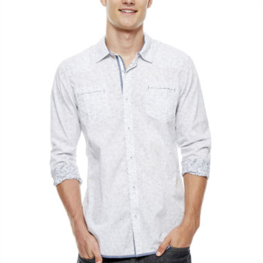 jcpenney.com | i jeans by Buffalo Mitttel Long-Sleeve Woven Shirt