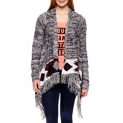 Arizona Long-Sleeve Flyaway Cardigan - Plus