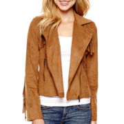 Arizona Long-Sleeve Fringe Jacket