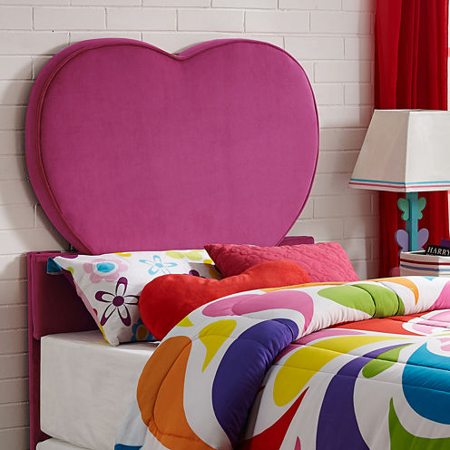 Heart Youth Twin Headboard