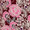 Deep Ruby Floral