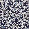 Will Navy Damask