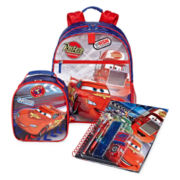 Disney Collection Cars Backpack, Lunchbox or Notebook
