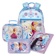 Disney Collection Frozen Backpack, Lunchbox, Notebook or Pencil Box