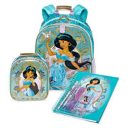 Disney Collection Jasmine Backpack, Lunchbox or Notebook
