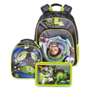 Disney Collection Buzz Lightyear Backpack, Lunchbox or Pencil Box