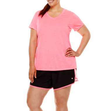 jcpenney.com | Xersion™ Melange T-Shirt or Woven Running Shorts - Plus