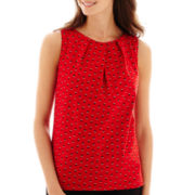Worthington® Sleeveless Shirt - Petite