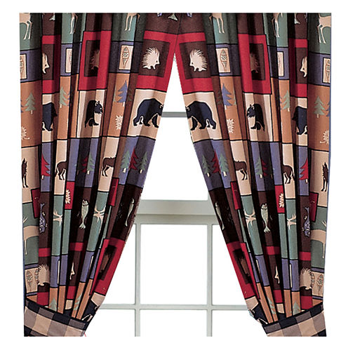 The Woods Curtain Panel