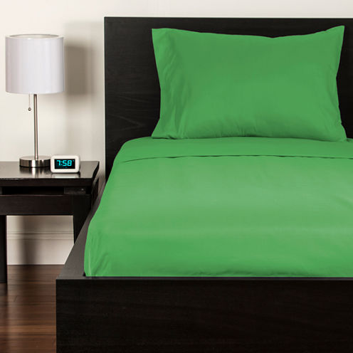 Crayola Jungle Green Microfiber Sheet Set