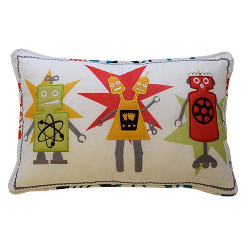 Waverly Robotic Rectangular Throw Pillow
