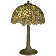 Dale Tiffany Wisteria Round Table Lamp