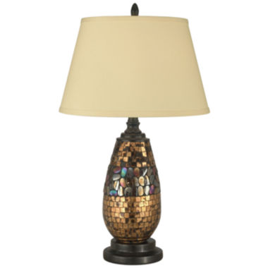 jcpenney.com | Dale Tiffany™ Antique Gold Mosaic Table Lamp