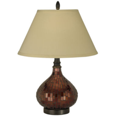 jcpenney.com | Dale Tiffany™ Copper Mosaic Table Lamp