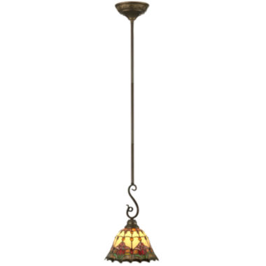 jcpenney.com | Dale Tiffany™ Jeweled Floral Mini Pendant Light