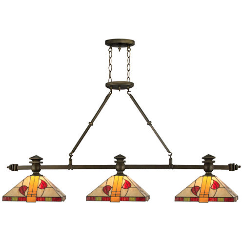 Dale Tiffany™ Island Rose Ceiling Light