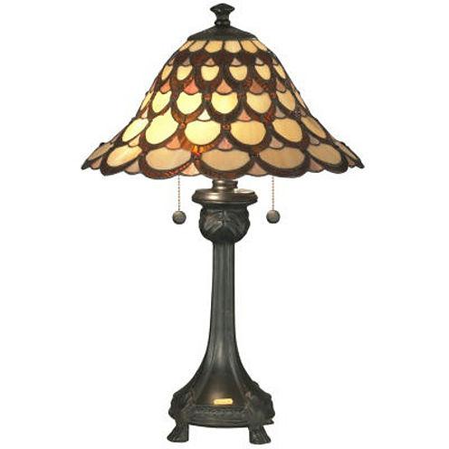 Dale Tiffany™ Peacock Table Lamp