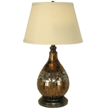 jcpenney.com | Dale Tiffany™ Mosaic Glass Dome Table Lamp