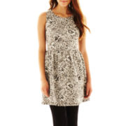 Bebop® Jacquard Skater Dress