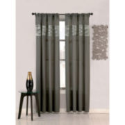 Umbra® Wave Rod-Pocket Sheer Curtain Panel