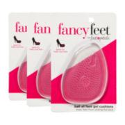 Foot Petals 3-pr. Ball-Of-Foot Cushions