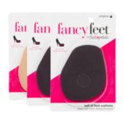 Foot Petals 3-pr. Assorted Ball-Of-Foot Cushions