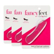 Foot Petals® 3-pr. Back-Of-Heel Cushions