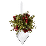 Kissing Krystals Mini Mistletoe Christmas Tree Ornament – Marquis