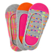 Maidenform® 3-pk. Footies - Girls