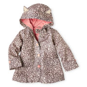 Carter's® Cheetah-Print Raincoat - Girls 12m-24m