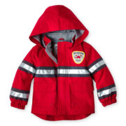 Carter's® Red Fireman Raincoat – Boys 12m-24m