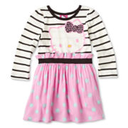 Hello Kitty® Print Challis Dress - Girls 2t-6