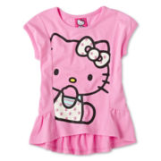 Hello Kitty® Dolman-Sleeve Top - Girls 2t-6