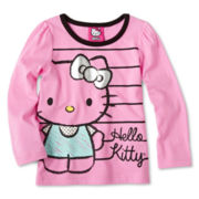Hello Kitty® Long-Sleeve Top - Girls 2t-6