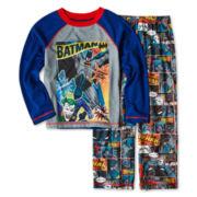 Batman Comic Book 2-pc. Pajama Set - Boys 4-12