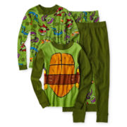 Teenage Mutant Ninja Turtles 4-pc. Pajama Set - Boys 4-10