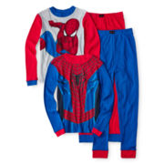 Spider-man 4-pc. Pajama Set - Boys 4-10
